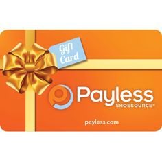 Payless Shoe Store Gift Cards Retail Stores Online